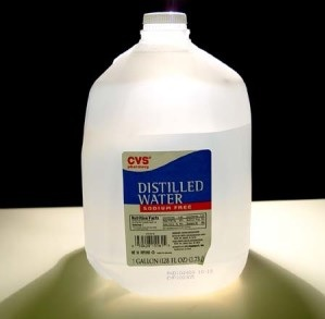 Applications of Distilled Water
